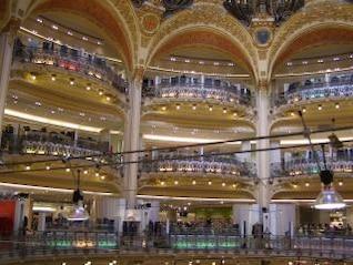 Paris - Shopping Mall, arch