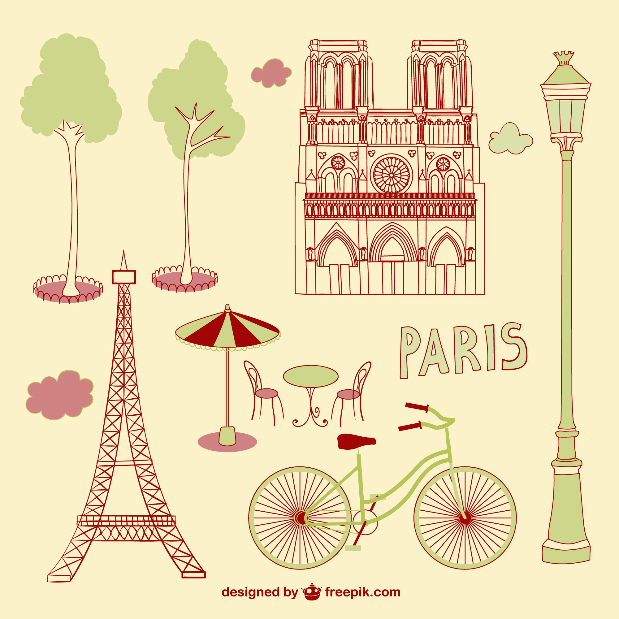 Paris scribbles