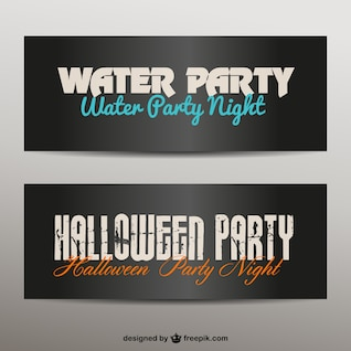 Party banners set
