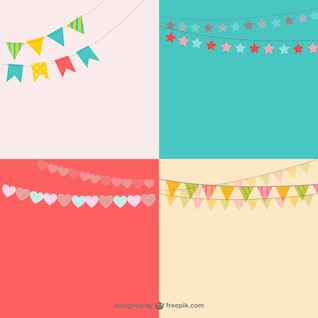 Party garlands pack