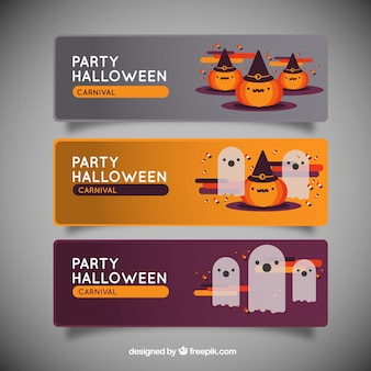 party halloween banners