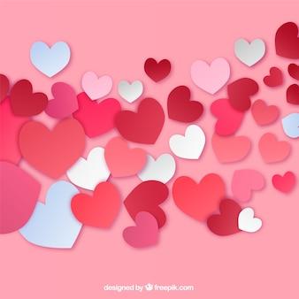 Passionate Valentine's greeting card