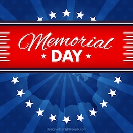 Patriotic background for memorial day