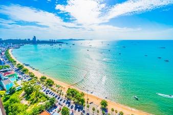 Pattaya city and bay