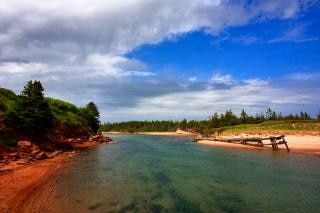 pei beach scenery   hdr  coastal