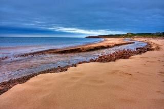pei beach scenery   hdr  coastline