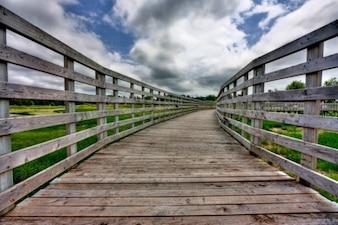 pei country bridge   hdr