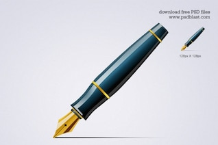 pen icon  psd