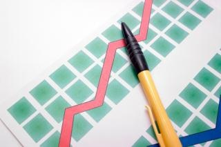 図、計画上のペン