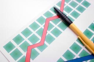 ダイアグラム上のペン