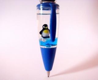 Penguin Blue Ball Pen, blue