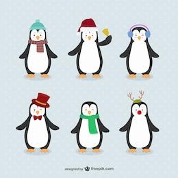 Penguin cartoons pack