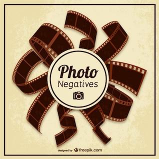 Photo negatives vector