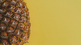 Pinapple with copy space