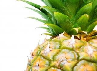 Pineapple, closeup