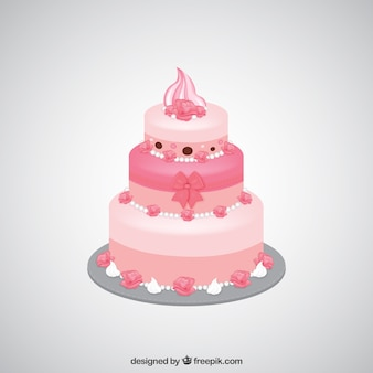 Pink cake