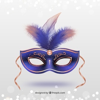 Pink carnival mask