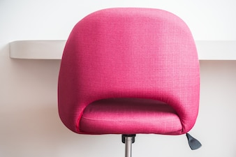 Pink working chair