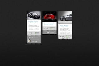 Pinterest template style pins PSD