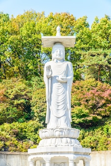Place skyline traditional buddhism famous
