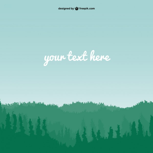 Plain natural landscpae vector