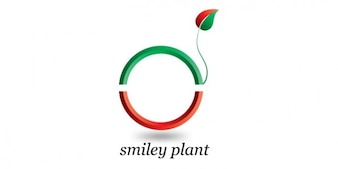 Plant with tail logo design