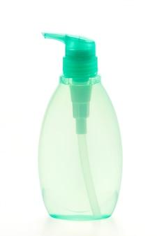 Plastic container of liquid soap