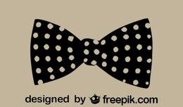 Polka-dots Retro Bow-tie Icon