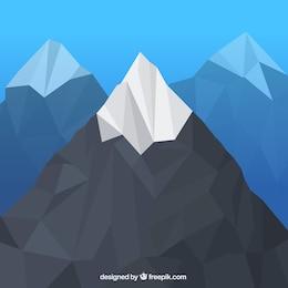 Polygonal mountain