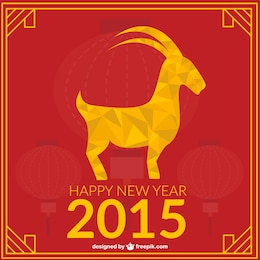 Polygonal Year of the Goat