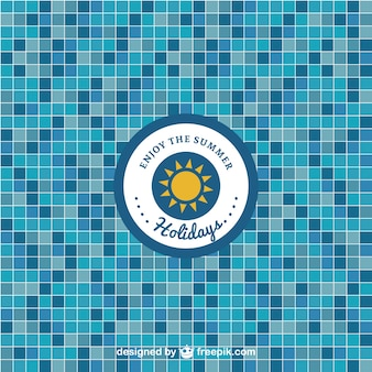 Pool tile free pattern