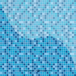Pool tile pattern