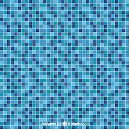 Pool tile vector seamless pattern