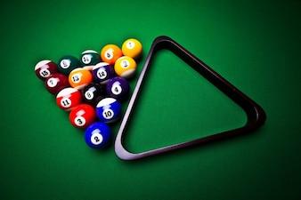 Pool triangle fun billiards circle