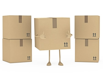 Positive box with other boxes