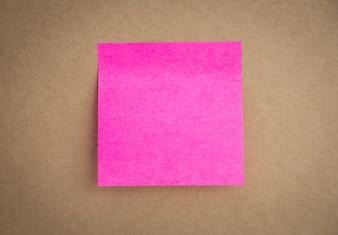 Post-it pink