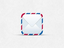 postal envelope ios mail icon psd