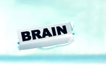 Poster that says  brain