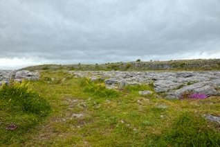 poulnabrone landscape   hdr  grunged