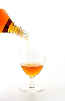 Pouring wisky