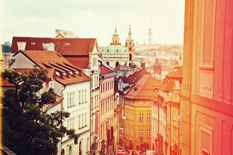 Prague architecture.