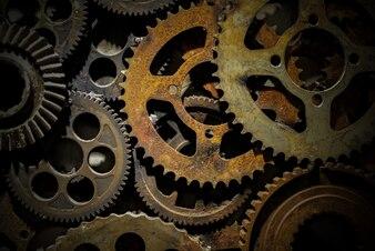 Precision factory iron parts teamwork