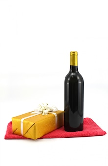 Present symbol season festive wine
