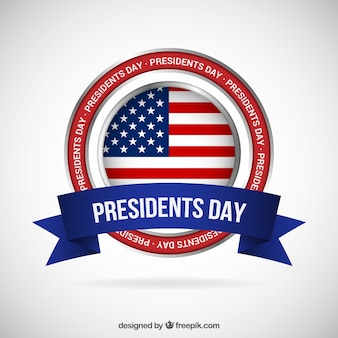 Presidents day banner
