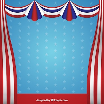 Presidents day curtains