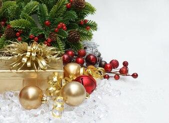 Pretty christmas ornaments