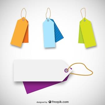 Price tag templates