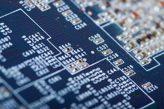 Printed circuit as background