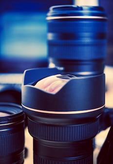 Professional Lenses Closeup