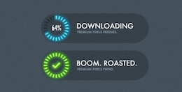progress loading indicators